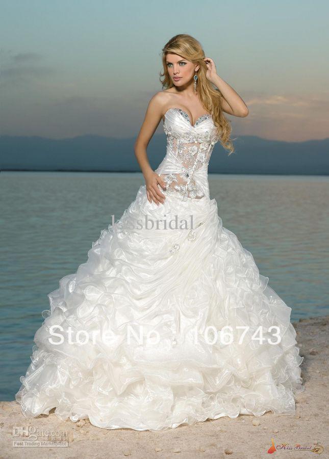 Popular usa wedding dress buy cheap usa wedding dress lots for Wedding dress free shipping