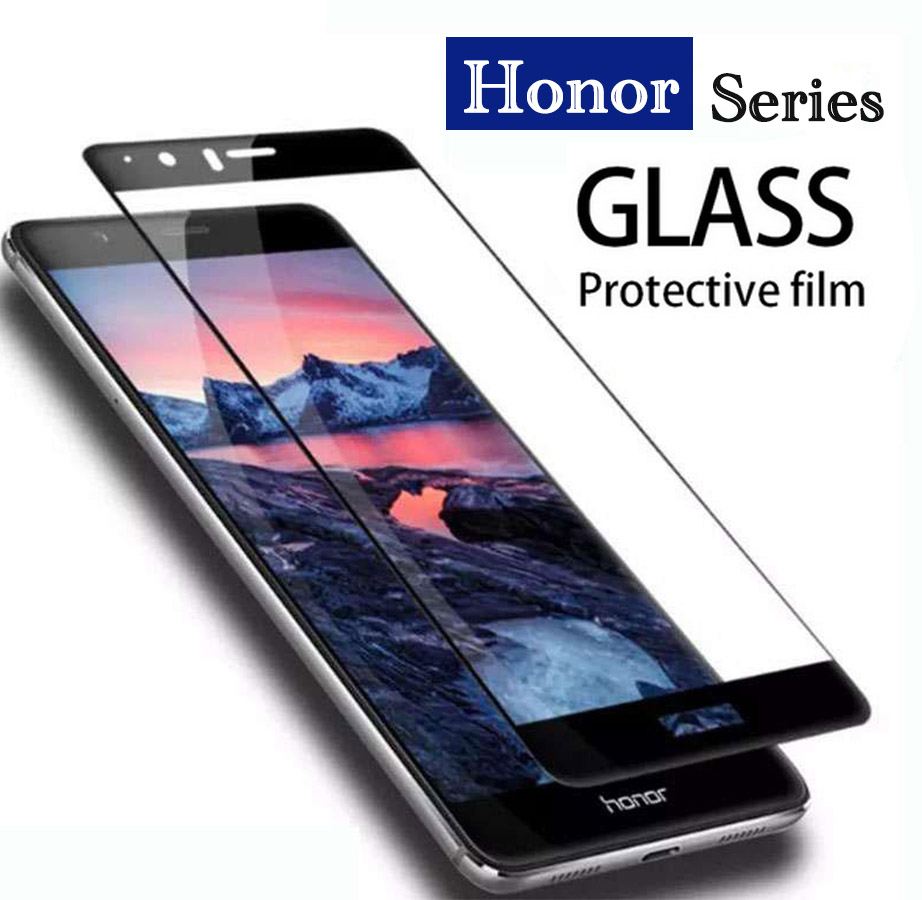 9H Full Glass Honor 9 Lite Protective Glass For Huawei Honor10 9lite 8 9 10 On Honor8 Honor9 Tempered Glas Screen Protector Film