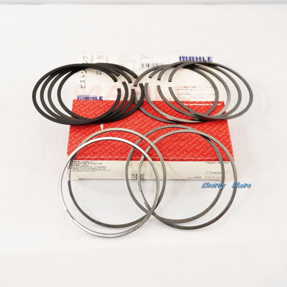 ФОТО OEM R105 82.5mm High quality Piston Rings Set 06J 198 151M/B Fit VW Golf Jetta Passat BEETLE CC AUDI A3 A4 A5 TT 1.8T 2.0T EA888