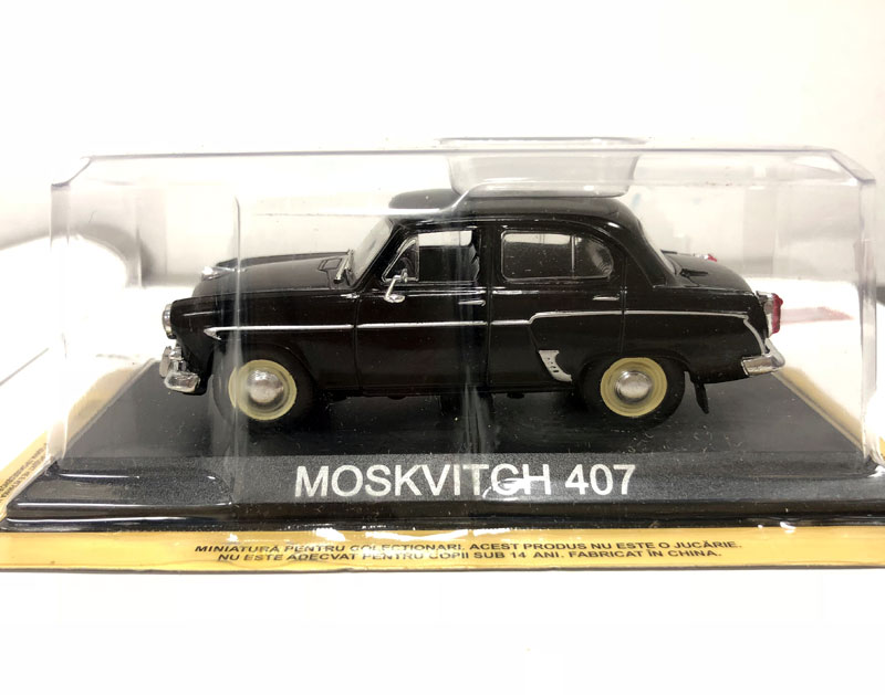 IXO 1/43 Scale RUSSIA MOSKVITCH 407 Diecast Metal Car Model Toy For Collection/Gift/Decoration