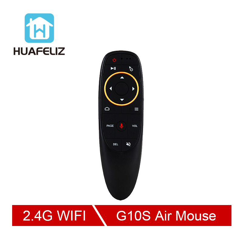 G10 S Voice Air Mouse 2 4GHz Wireless Google Microphone Remote Control IR Learning 6 axis