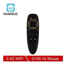 G10 S Voice Air Мышь 2,4 ГГц Беспроводной Google микрофон дистанционного Управление ИК обучения 6 оси гироскопа для Android ТВ Box PC
