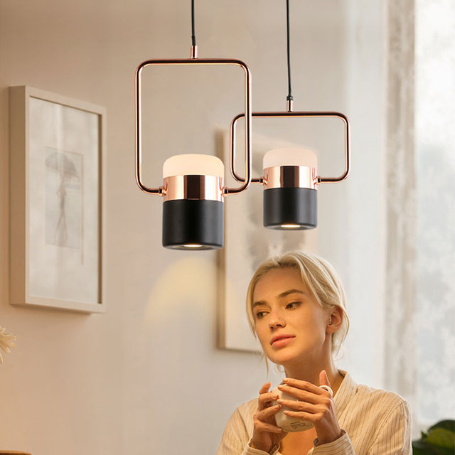 High quality rotating pendant lamp adjustment metal pendant lights for bar restaurant bar bedside lamp home lighting Pendant Lights