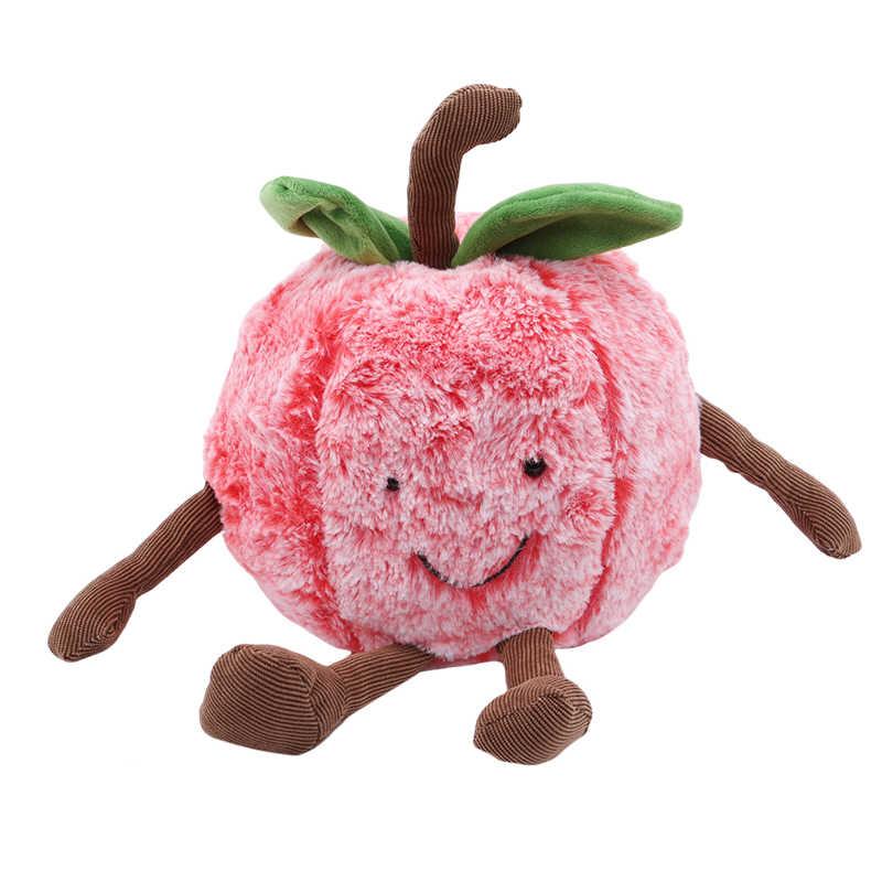 Новые фрукты овощи плюшевые игрушечные лошадки Фрукты Арбуз вишня мягкие подушки Детские Диван для детей подарок девочек