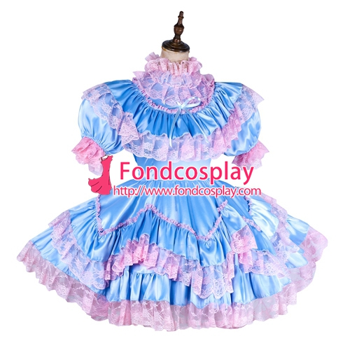 Tailor-made Sissy cosplay Uniforme
