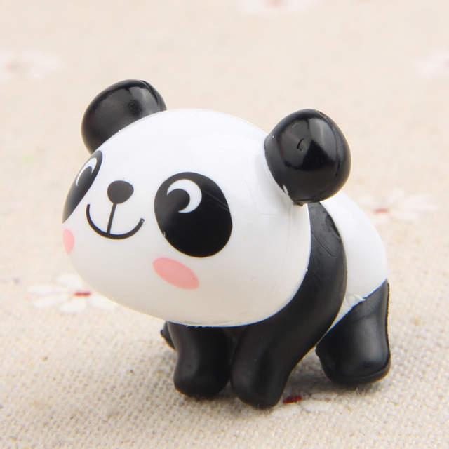 327 10 De Réductionbébé Garçon Et Fille Jouets 8 Piècesensemble Kawaii Epicerie 8 Dessin Animé Panda Mignon Version De Modélisation Bricolage