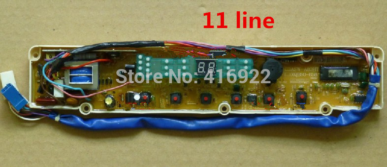 Free shipping 100% tested for Sanyo washing machine board xqb50-758 xqb50-m807 xqb50-768 xqb50-658 motherboard on sale free shipping 100% tested washing machine board for haier 192 xqb50 20h 52 20h on sale