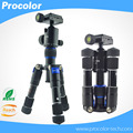 MS08 Portable Aluminum Tripod Compact Desktop Macro Spider Mini Table Tripod with Ball Head for Sony Canon Nikon Camera