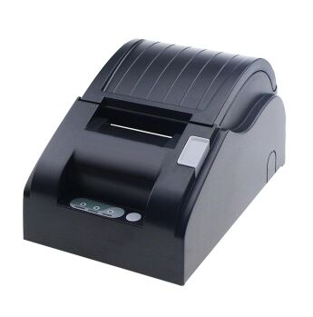wholesale Thermal 58mm printer USB+LAN port High quality 58mm receipt bill Small ticket POS printer printing speed Fast rj45 pos thermal receipt printer 58mm 589tl lan port bill printing machine for supermarket quality slip printer hot sale