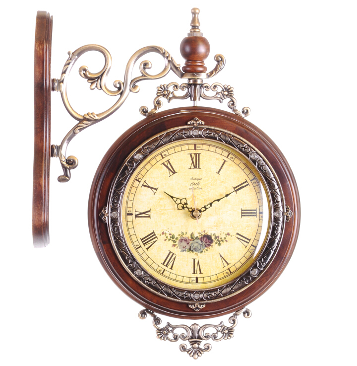 Fancy square wall clock with special design wall clock vintagein