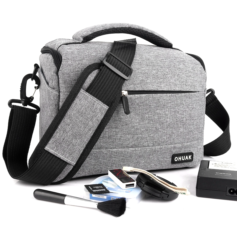 Camera Bag For <font><b>Sony</b></font> Alpha HX300 H400 HX400 A6300 A6000 A580 A560 A450 A390 A290 A77 A65 A58 A57 A3000 <font><b>A350</b></font> A700 A900 A550 A500 image