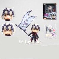 Anime Fate Grand Order Avenger Jeanne d'Arc Alter Nendoroid 766# Cute Action Figures PVC Doll Collection Model Toys 10CM