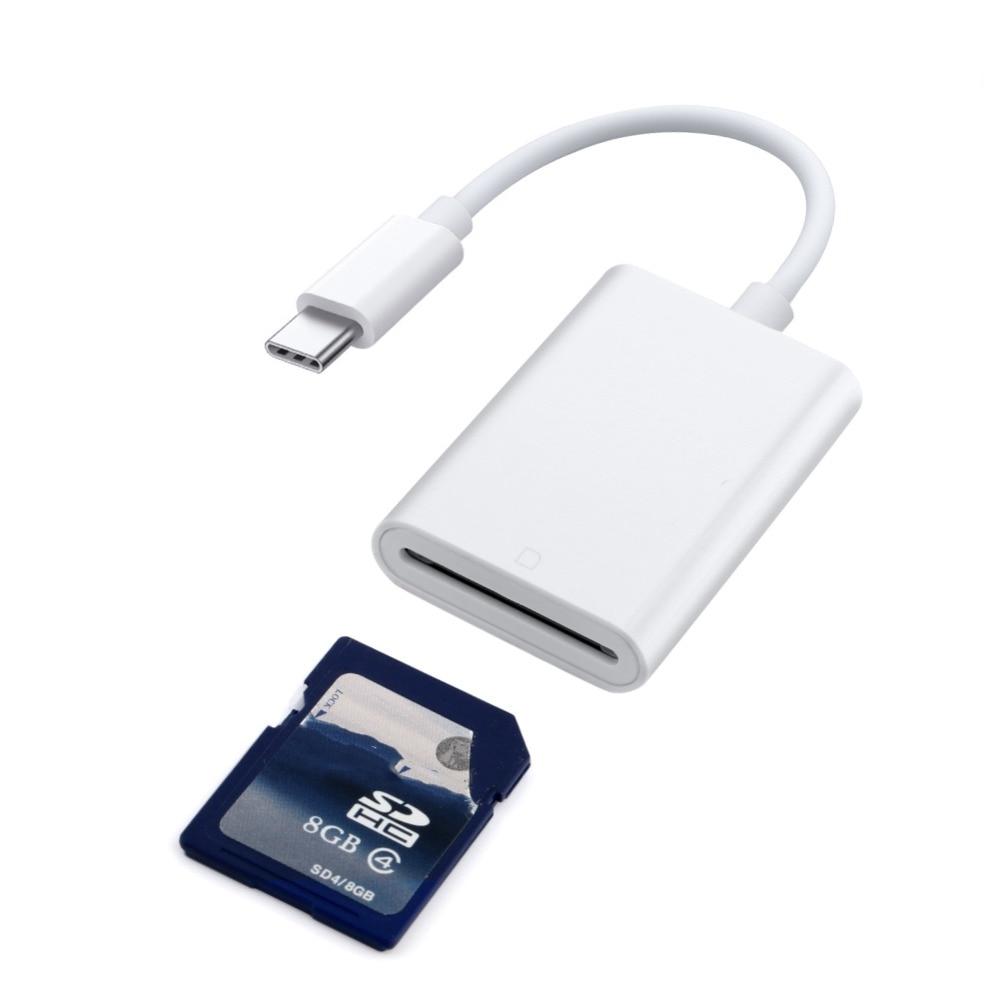 SD Card Reader USB C Type C To Camera SD Card Reader