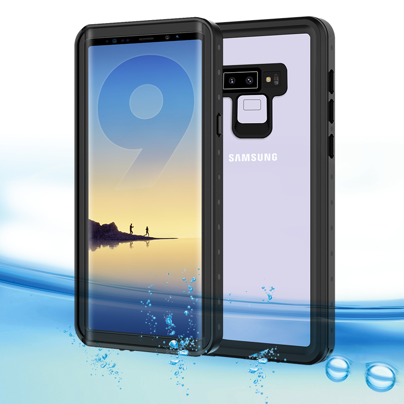 Note 9 Waterproof Case for Samsung Galaxy Note 9 Water Resistant Cover for Samsung Note 8 S9 Plus S8 Plus Underwater Watertight