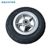 Motorcycle 6x1 1/4 tyre 150MM Scooter Inflation Wheel Aluminium plastic Hub Inner Tube Electric Scooter 6 Inch Pneumatic Tire