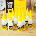 1 Pcs Deli 502 Super Glue Instant Quick-drying Cyanoacrylate Adhesive Strong Bond Fast Leather Rubber Metal 8g Office Supplies