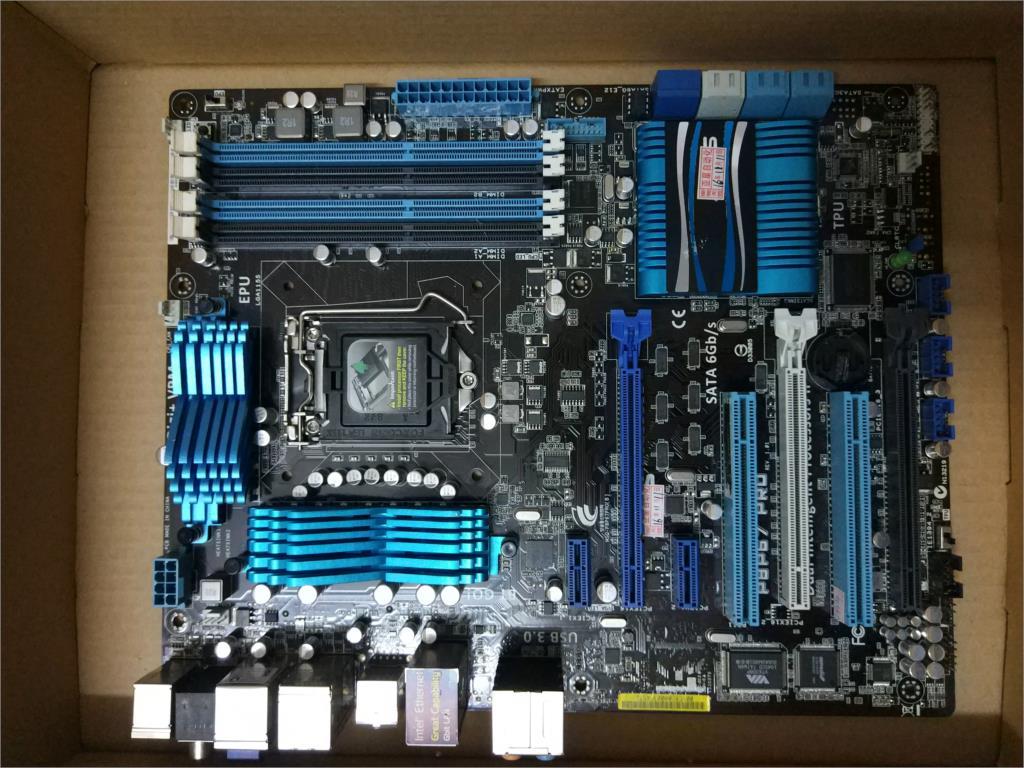ASUS used original motherboard P8P67 PRO REV3.1 B3 version 1155 pin used 90%newASUS used original motherboard P8P67 PRO REV3.1 B3 version 1155 pin used 90%new