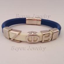 customized Alpha style Jewelry font b gift b font ZETA PHI BETA Sorority divine Fraternity ZPB