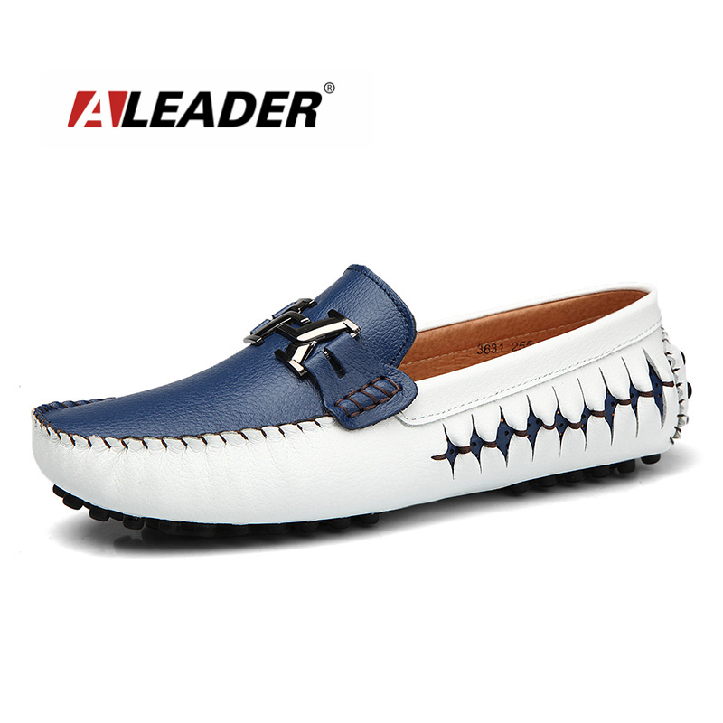 New Full Grain Leather Casual Moccasins High Quality Men Dress Flats Slip On Men  Fashion Driving Men Loafers Sapatos Masculinos new casual moccasins men loafers genuine leather slip on men flats hight quality driving men shoes sapatos masculinos