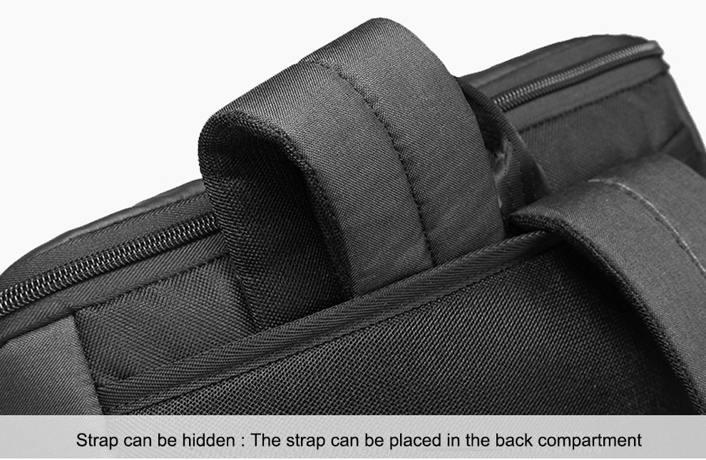 BAIBU mochila para laptop 15,6 polegadas preta