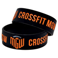 1PC CrossFit MGW Silicone Bracelet for Fitness Activities