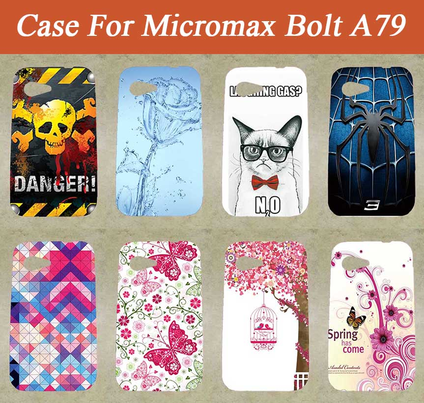 san francisco e11c6 7b25f US $2.2 |Case For Micromax A79 Cove DIY Colorful Printing Drawing Painting  SOFT TPU Phone Cover For Micromax A79 mobile Phone Cases-in Half-wrapped ...