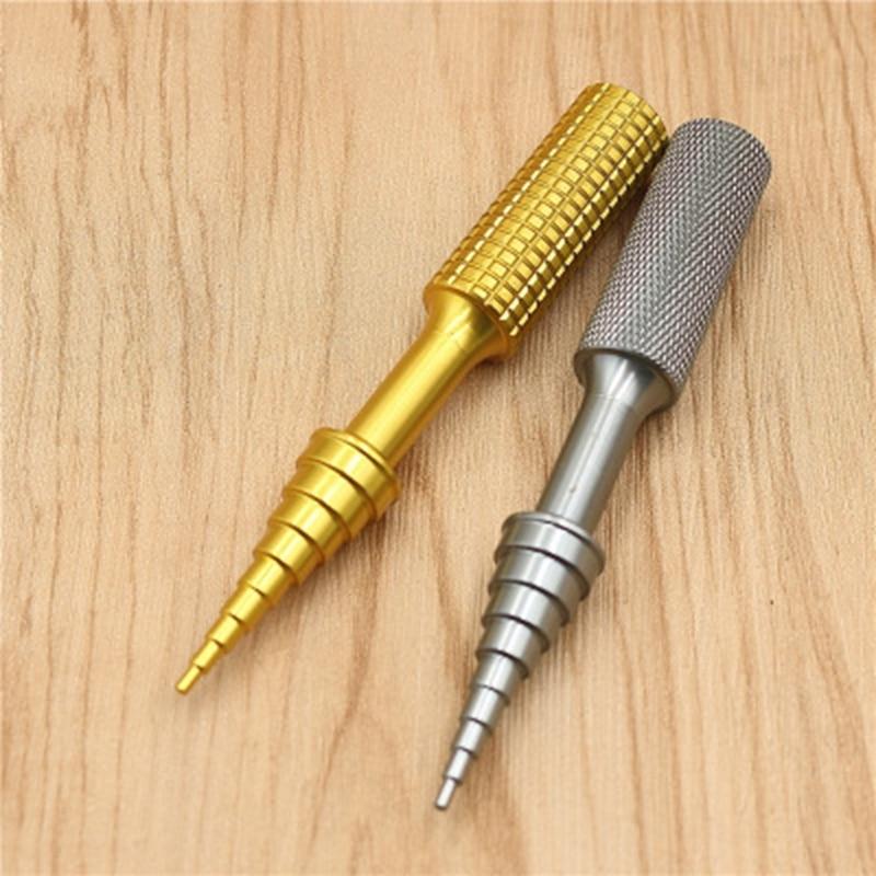 1 St 2-14mm Goud/grijs Lagers Disassemblers Aluminium Lager Verwijder Gereedschap Trekkers Installateurs Hand Tool Set Voor Rc Model Auto