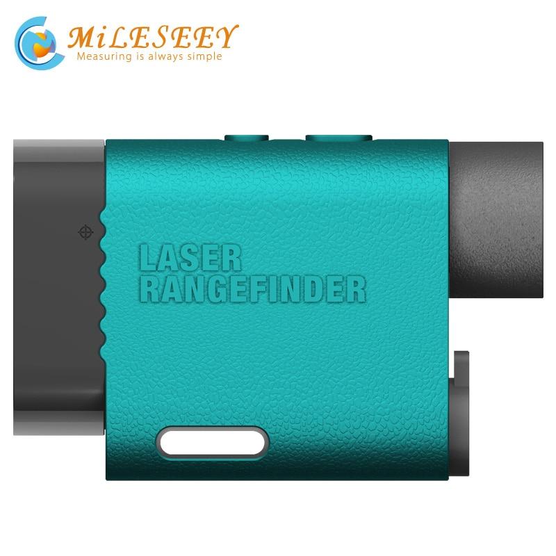 Лазерный дальномер Гольф дальномер Оптические инструменты Mileseey pf03 600 м точность измерения 1 м