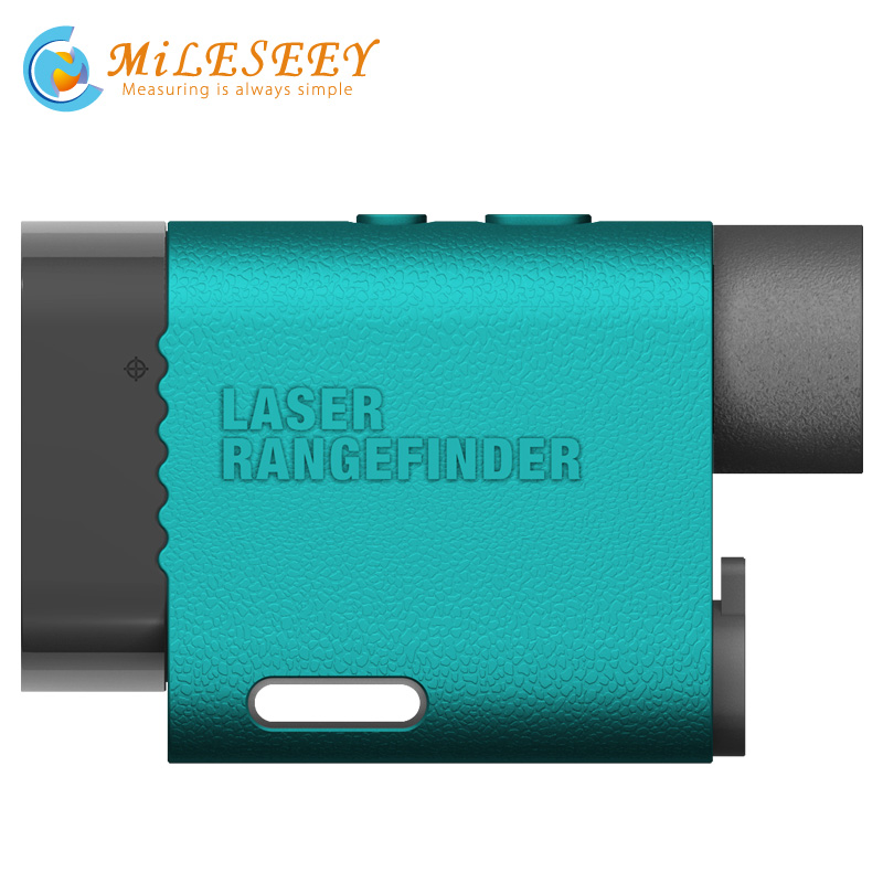 Laser Rangefinder Golf Range Finder Optical Instruments Mileseey PF03 600M Measurement Accuracy 1m