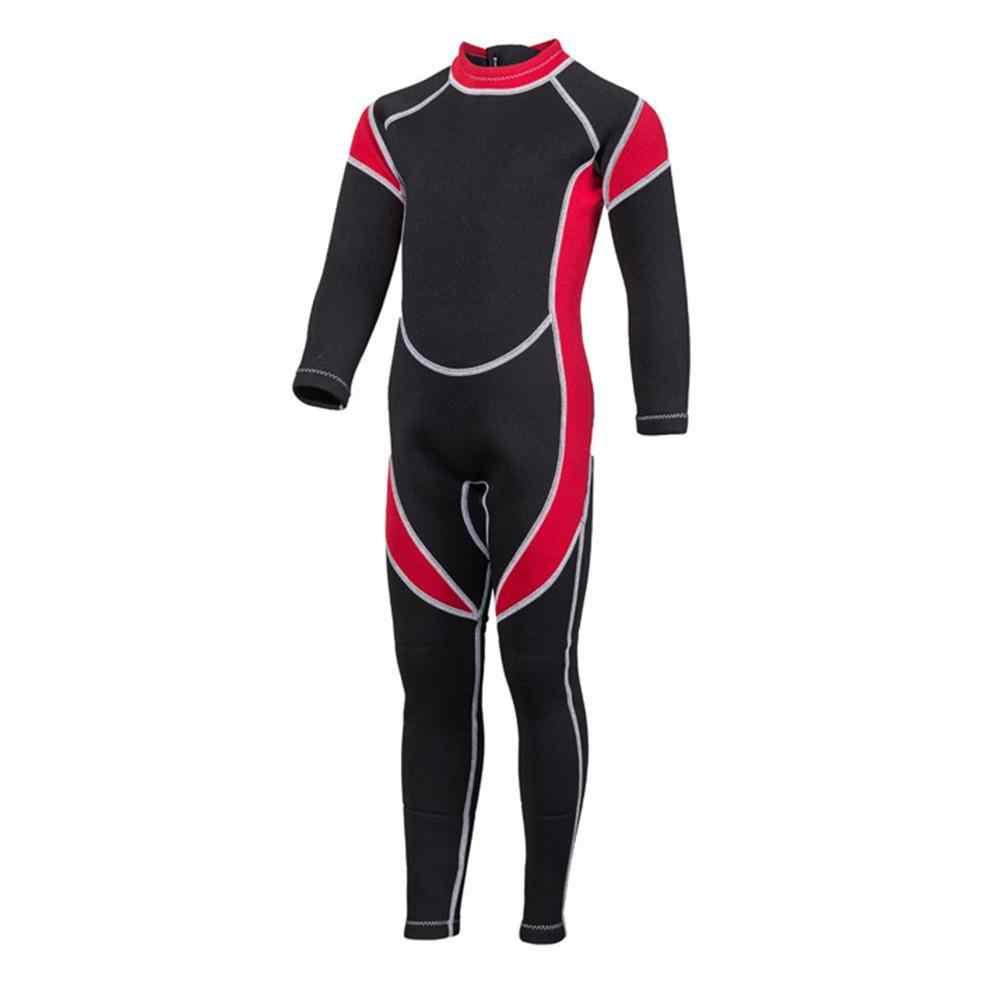 2019 traje de buceo para niños de 2,5 MM abrigado para mantener el surf trajes de snorkel para niños, niños y niñas