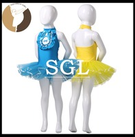 (5 pieces/ Wholesale Girls Halter Ballet Tutu For Dance Performance Or Competition Child/Kid/Toddler Size Dance Dresses SD4044