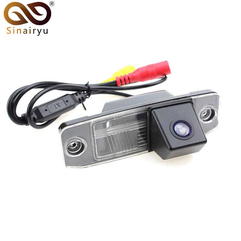 Sinairyu Car Reverse Backup Rear View Camera For Kia Sorento Sportage Carens Ceed Opirus