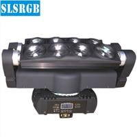 LED Moving Head Strahl 8 Augen Licht 8*10W Weiße LED Spinne Moving Kopf Weiße Led Dj Licht mit 3 Grad Strahl Winkel
