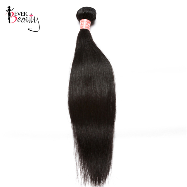 Straight Brazilian Virgin Hair Bundles 100 Human Hair Weaving