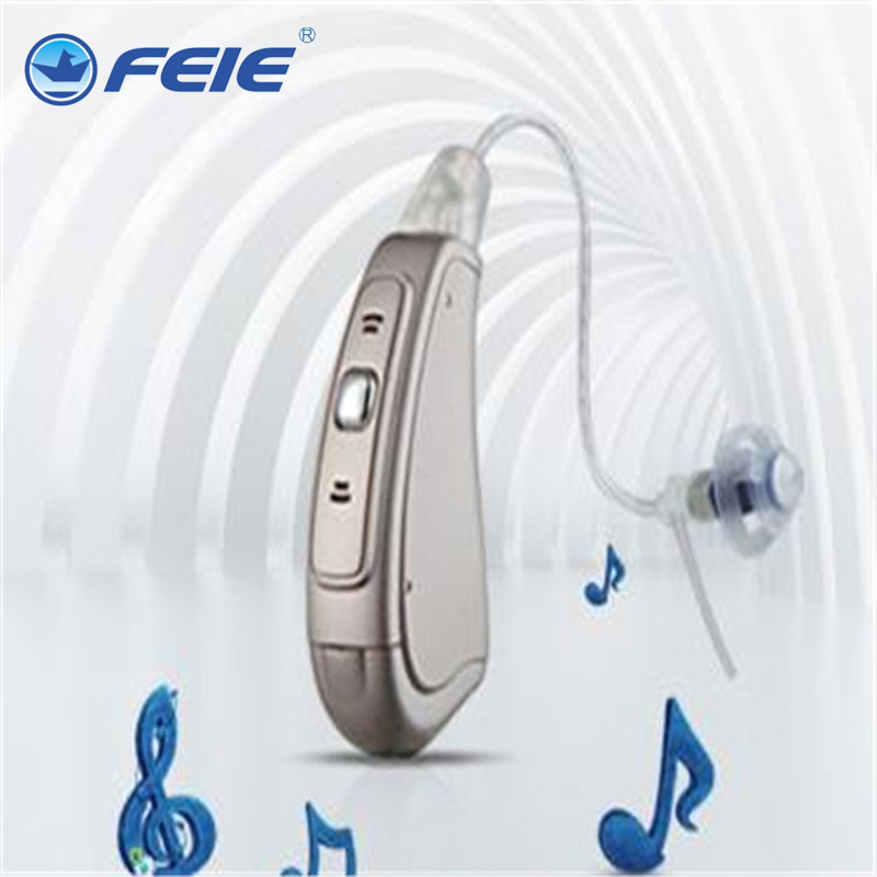 Mini Hearing Aid Volume Adjustable Sound Amplifiers Noise Reduction MY-19S Programmable Digital Hearing Aid Ears Earphones