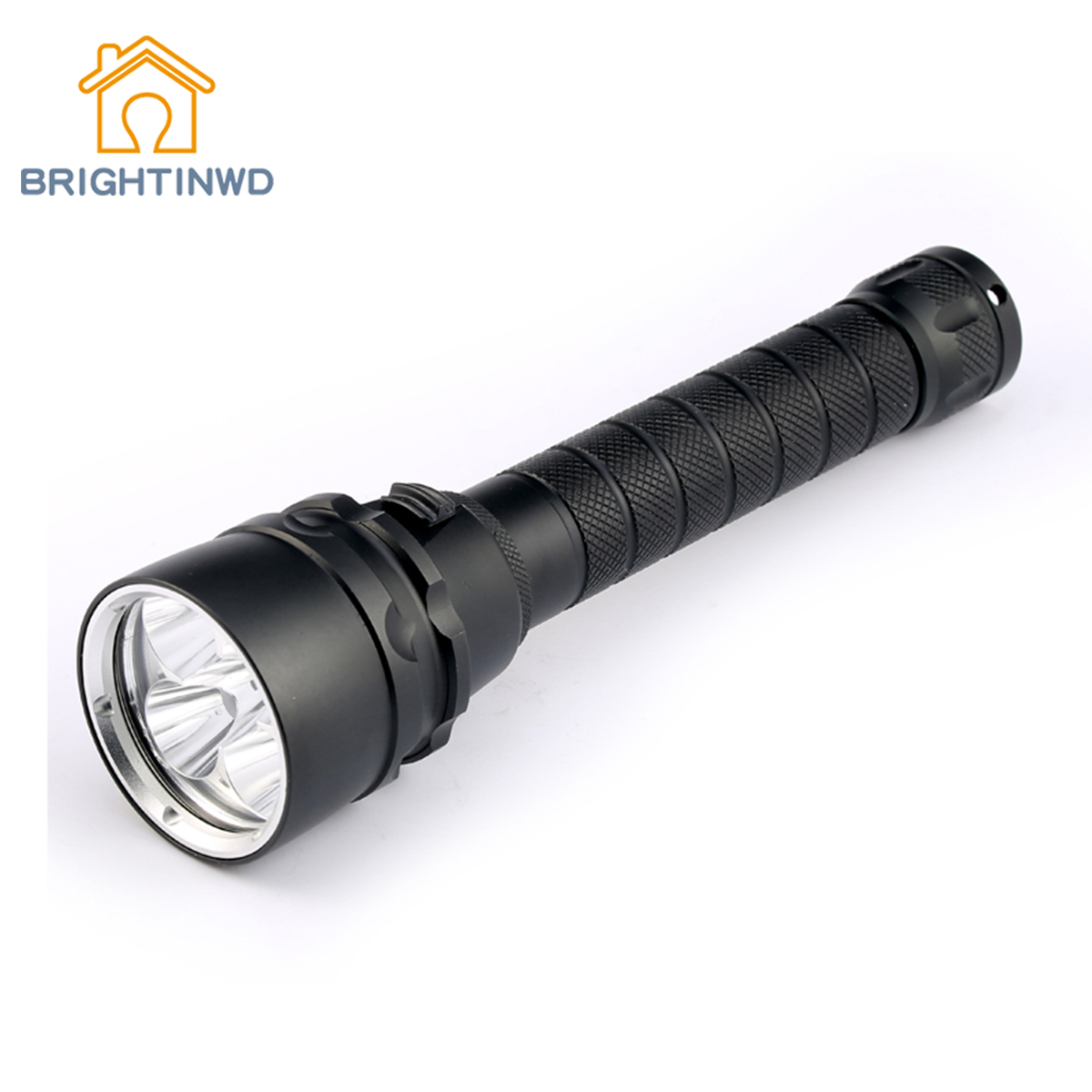 BRIGHTINWD Diving Flashlight Torch Xml-t6 Underwater 200 Meter Diving Linternas Waterproof Light Lamp Powerful Led Flashlight sitemap 200 xml