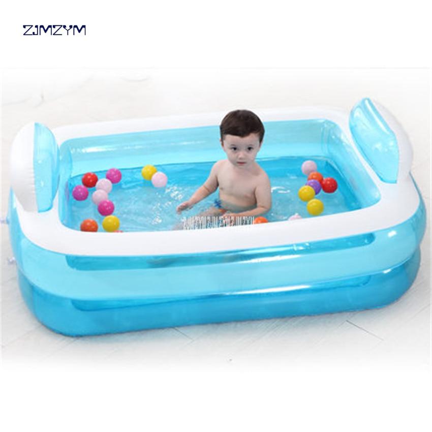 Baignoire gonflable adulte portative de PVC se pliant la baignoire de beauté de l'eau sûre et écologique épaisse Non toxique NA15210860 - 2