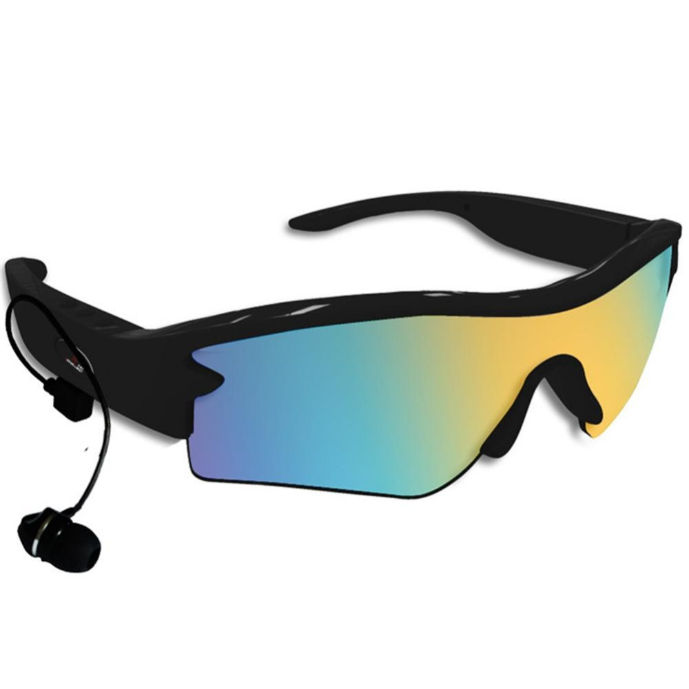 Stereo Wireless Bluetooth V4.0 Earphone Outdoor Sports Driving Sunglasses MP3 Music Sun Glasses Earbuds With Mic For Cellphone topeak outdoor sports cycling photochromic sun glasses bicycle sunglasses mtb nxt lenses glasses eyewear goggles 3 colors