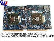 GeForce 8600 M 8600 M GS DDR2 MXMII tarjeta de Vídeo VGA para Compal FL-90 FL90 FL92 ZD8000 lenovo K41A K42A E41A E42A