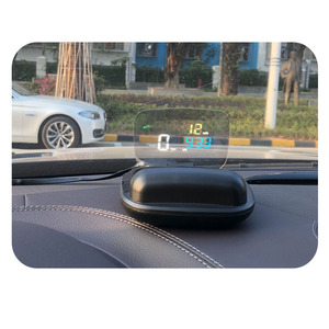 Image 4 - C800 GPS HUD Head Up Display Multi Function OBD HUD Auto Speedometer OBD2 Fault Code Elimination Driving ComputerSecurity Alarm
