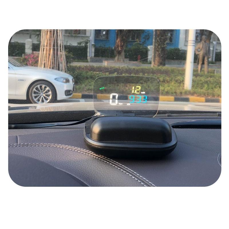 Image 4 - C800 HUD Дисплей на голову Многофункциональный OBD gps HUD Авто Спидометр OBD2 код неисправности устранение вождения компьютерная сигнализация-in Проекционный дисплей from Автомобили и мотоциклы
