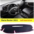 AIJS Пылезащитная Накладка для приборной панели автомобиля Dacia Duster 2011 левый руль авто приборная панель защитный коврик для Dacia Duster 2011