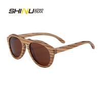 high quality Wood Women Sunglasses Oval sunglasses Wooden Frame sun Glasses oculos gafas de sol 6027
