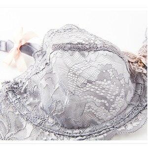 Image 4 - Varsbaby Damen Ultra dünne Spitze Sexy Unterwäsche Halbe Tasse Komfortable Atmungs Bh Sets