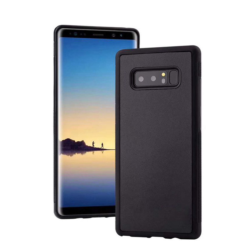 Anti Gravity Phone Case For Samsung Galaxy S10 Plus S10E S9 S8 S7 S6 Edge S5 Note 9 8 4 Magical Nano Suction Adsorbed Back Cover(China)