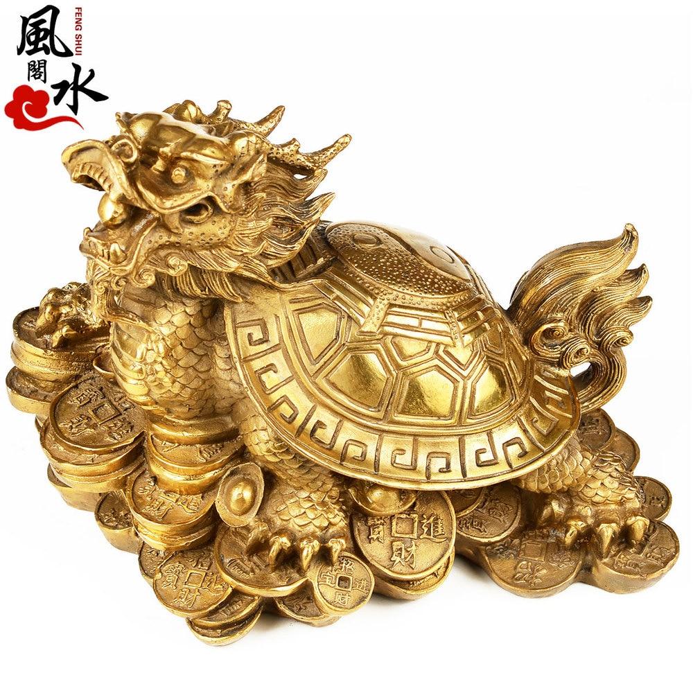 feng shui home home Five emperor money lucky town copper coins