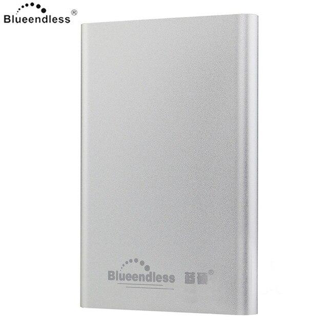 """Blueendless cuerpo de aluminio caja caso usb 3.0 con cable hdd ssd sata de hasta 1 tb 2.5 """"hdd Caja para iOS/Windows 5 Colores"""