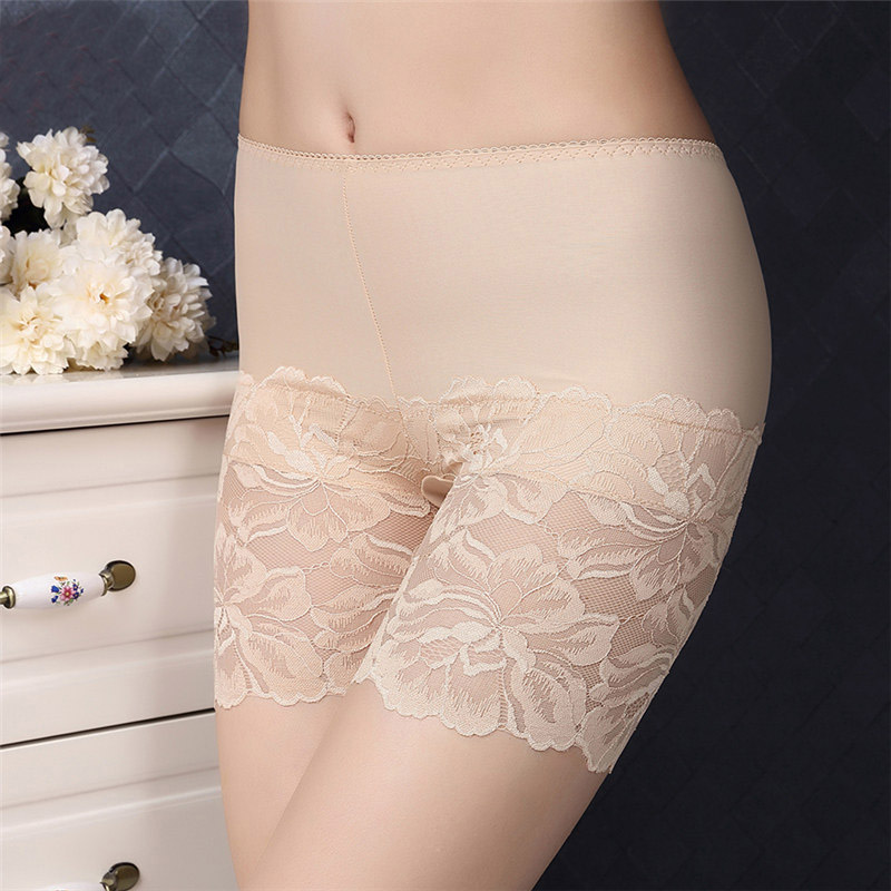 Summer Women Female Modal Princess Lace Shorts For Beach Casual Tourism Wedding Party Under Skirt Wearing