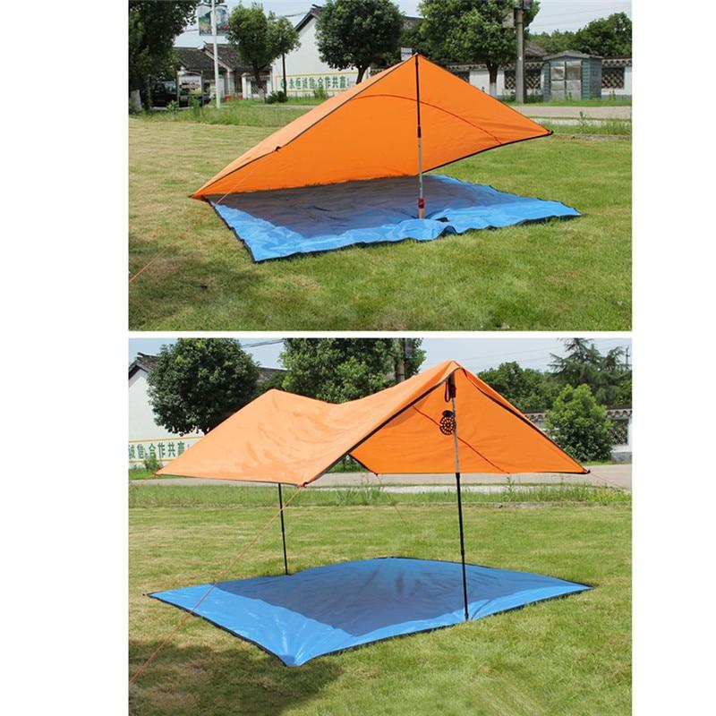 Hot 200*200 Outdoor Camping Mat Mattress Foldable Sleeping Playing Mattress Pad Waterproof Aluminum Foil EVA SA457 T20