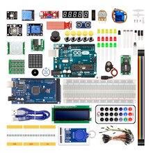 Фотография Arduino Starter Kit With uno R3 and mega 2560 / lcd1602 / hc-sr04 / HC-SR501 dupont line in plastic box